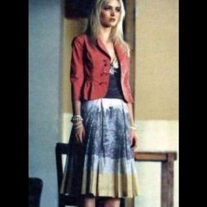 *Rare!* Anthropologie Binocular Skirt by Odille